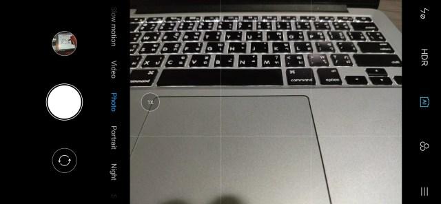 User Interface กล้องของ Xiaomi Mi Mix 3