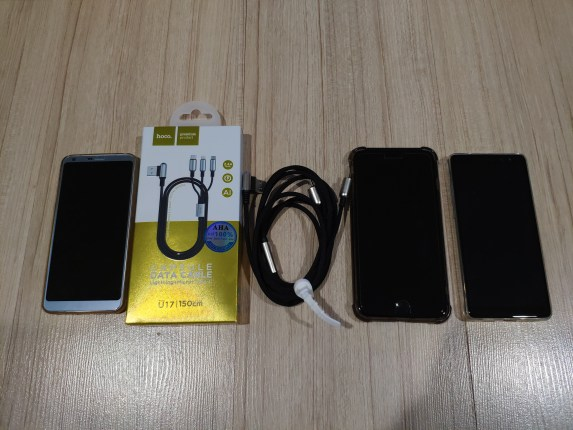 รีวิวสายชาร์จแบบ 3 in 1 ของ hoco รุ่น U17 Micro USB, Lightning หรือ USB-C เส้นเดียวเอาอยู่หมด 4