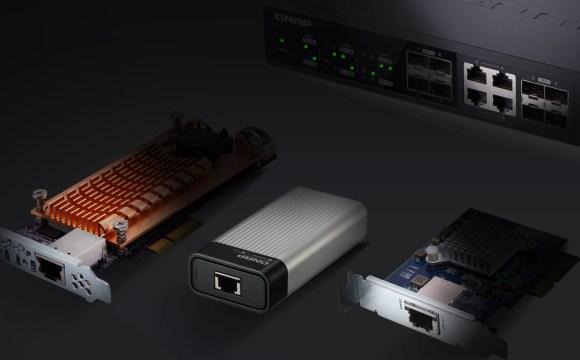 อุปกรณ์เน็ตเวิร์ก 10GbE ของ QNAP