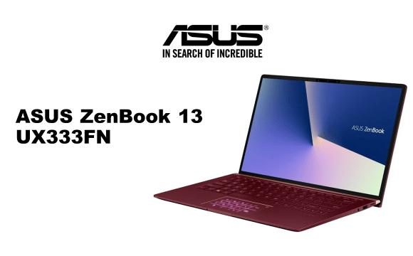 โน๊ตบุ๊ก ASUS ZenBook 13 UX333FN สีแดง