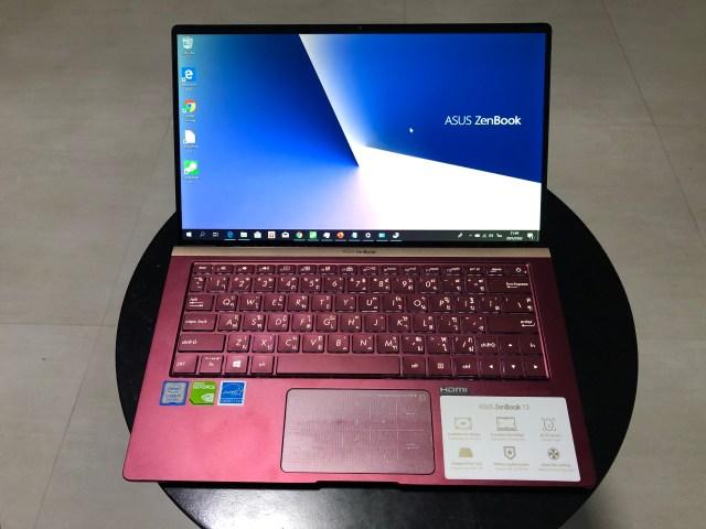 โน้ตบุ๊ก ASUS ZenBook 13 UX333FN สีแดง