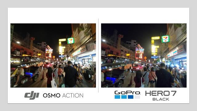 เทียบ DJI Osmo Action กับ GoPro Hero 7 Back สำหรับผมแล้ว คิดว่ายังไง 2