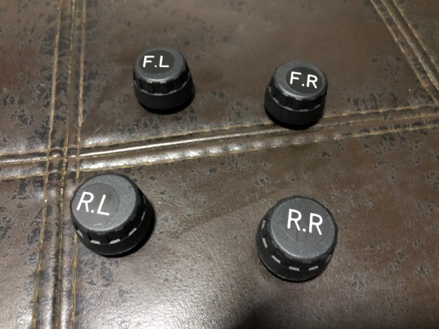 จุกลมยาง TPMS TYRE FS700 สำหรับทั้งสี่ล้อ