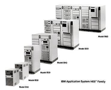 IBM AS/400 เวอร์ชันต่างๆ