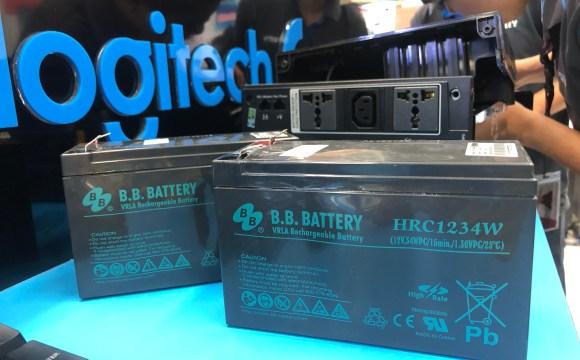 แบตเตอรี่ของ UPS ยี่ห้อ B.B. Battery