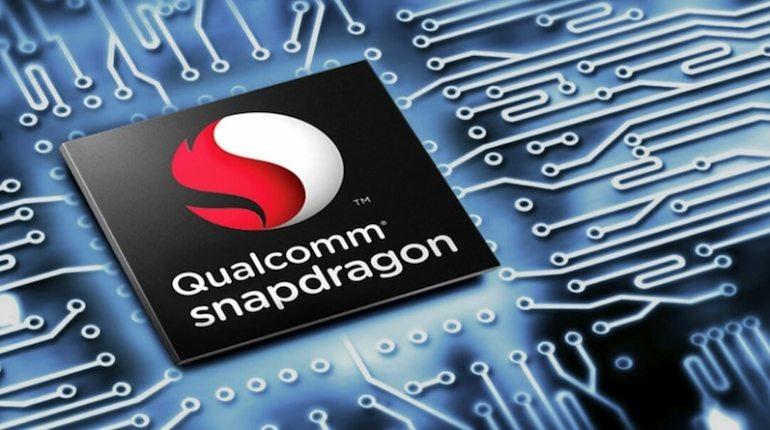 ภาพกราฟิกจำลองชิปเซ็ตของ Qualcomm Snapdragon