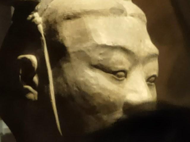 ภาพ 30x ของจุดจัดแสดงหุ่นดินเผาทหารสุสานจิ๋นซีฮ่องเต้