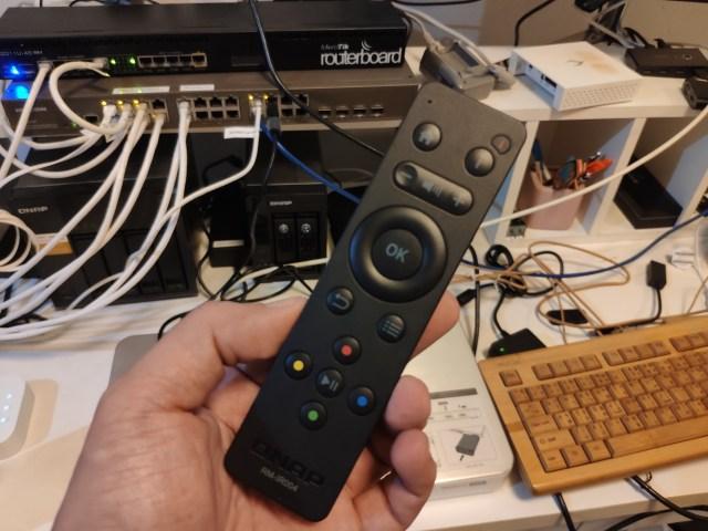 รีโมทคอนโทรลของ QNAP HS-453DX
