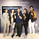 ภาพหมู่งานเปิดตัว Fitbit Versa 2