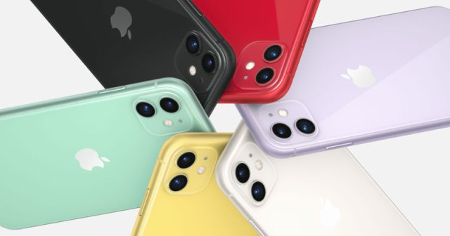 iPhone 11 ด้านหลัง ครบทุกสีที่มีวางจำหน่าย