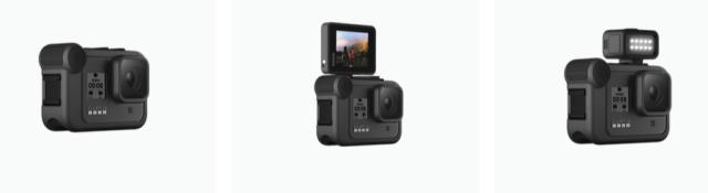 GoPro Hero 8 Black ที่ใส่พวกอุปกรณ์เสริมต่างๆ เข้าไป