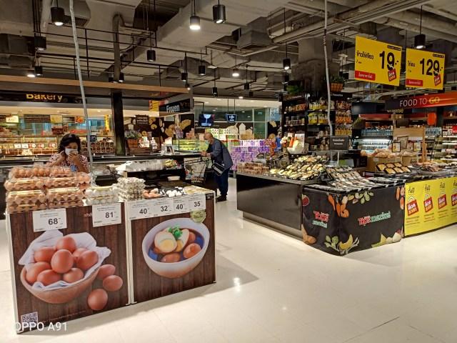 พื้นที่ขายอาหารพร้อมทานของ TOPS Supermarket