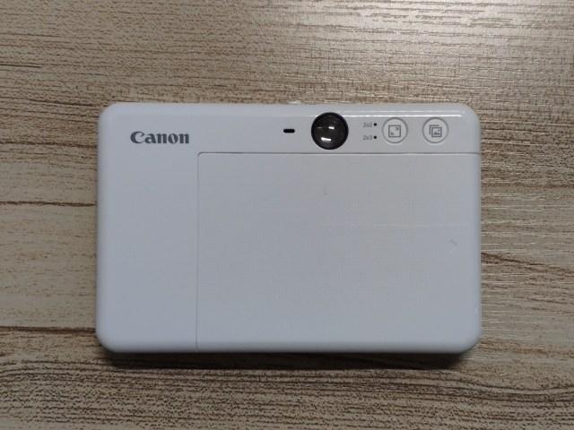 ด้านหลังของกล้อง CANON iNSPiC S