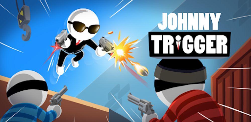 กราฟิกประชาสัมพันธ์เกม Johnny Trigger