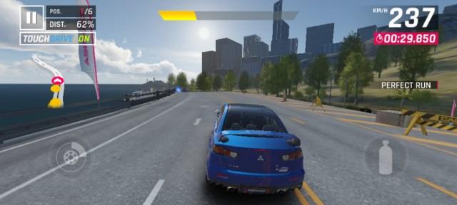 ภาพหน้าจอเกม Asphalt 9: Legends เล่นบน Huawei Y6P