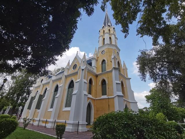 ภาพของโบสถ์วัดนิเวศธรรมประวัติราชวรวิหาร จังหวัดอยุธยา