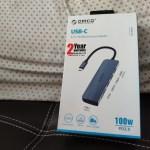 กล่องผลิตภัณฑ์ Orico USB-C 6-in-1 Multifunctional Adapter