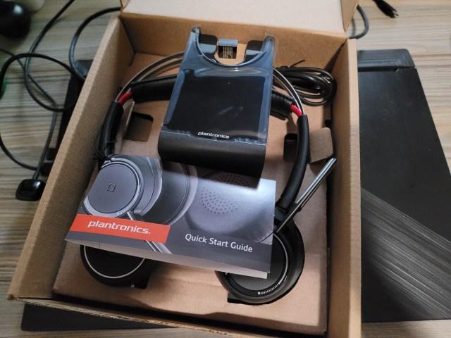กล่องใส่หูฟัง Plantronics Voyager Focus UC