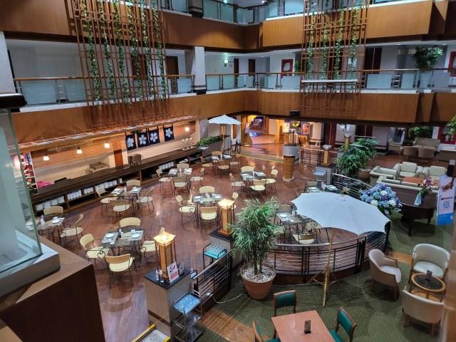 ภาพของโซนร้านอาหารชั้น 5 ของโรงแรม Friday