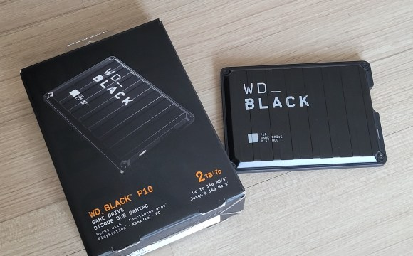 WD_BLACK P10 พร้อมกล้อง ความจุ 2TB