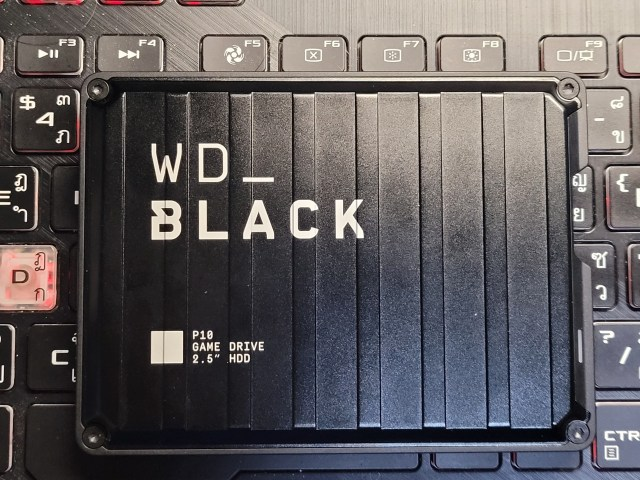 External HDD WD_BLACK P10