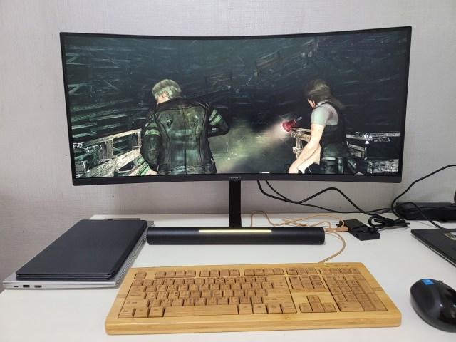 เล่นเกม Resident Evil 6 บนจอ Huawei MateView GT