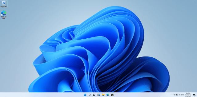 หน้าจอเดสก์ท็อปของ Windows 11
