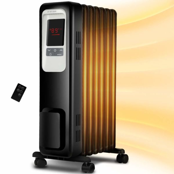 Aireplus-Space-Heater-1500W-Oil-Filled-Radiator