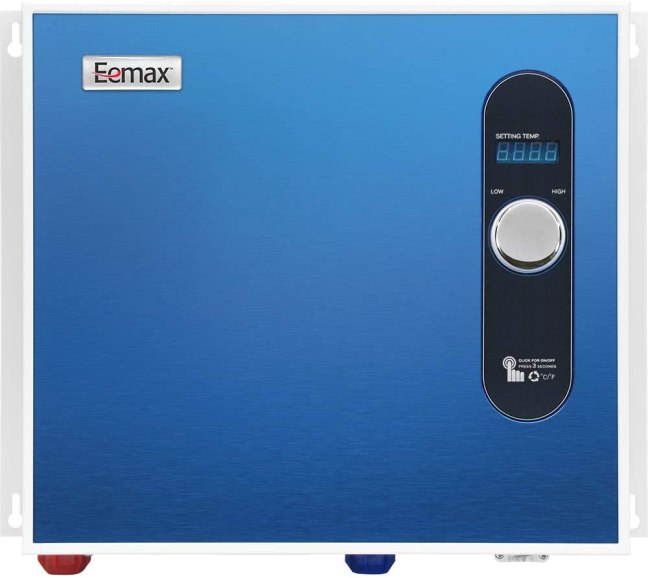 Eemax EEM24036 Electric Tankless Water Heater, 36Kw, Blue
