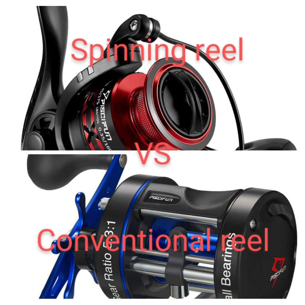 Conventional Reels Vs Spinning Reels