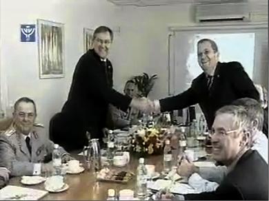 Barak and Franz Josef Jung defenceministers