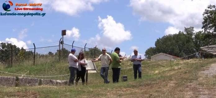 Ευχαριστίες της Εφορείας Αρχαιοτήτων και του Δήμου προς τον κ.Γίδη για την βοήθειά του στις εργασίες του Αρχαίου Θεάτρου