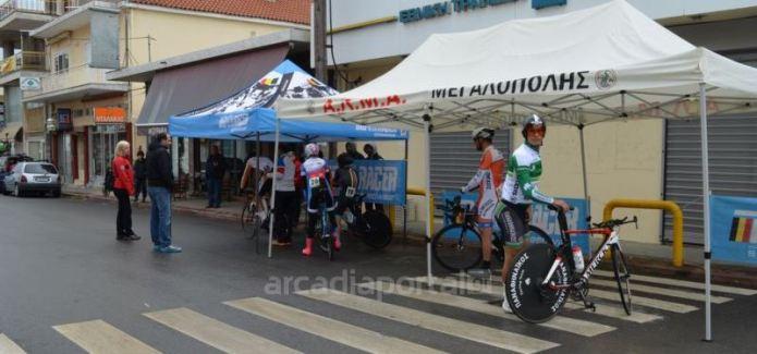 Υπό βροχή το ποδηλατικό χρονόμετρο του «Bioracer Cup» στη Μεγαλόπολη (pics,vid)