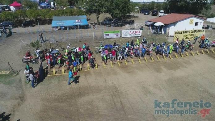 3ος αγώνας του Πρωτ. Motocross Ν. Ελλάδος στην πίστα της Μεγαλόπολης (Video-Photo)