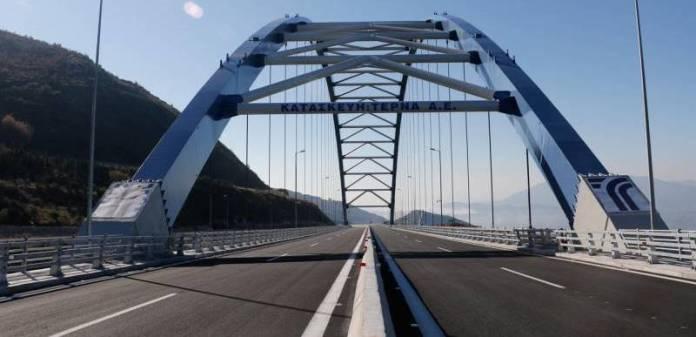 Κλειστή από Δευτέρα 16 Νοεμβρίου η γέφυρα της Τσακώνας