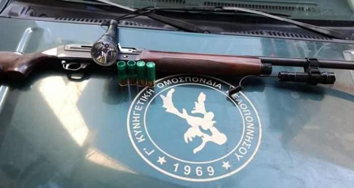 Συλλήψεις για παράνομο κυνήγι στο Μακρύσι Μεγαλόπολης