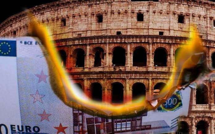 Η Ιταλία στην δίνη του ΕΥΡΩ