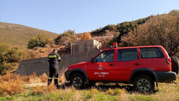 Αναβρυτός: Επισκευή υδατοδεξαμενών και δημιουργία πυροσβεστικών κρουνών