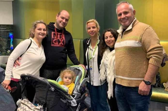 Οικ. Πέτρου Αθανασιάδη: Συνάντηση στην Βοστώνη με την οικογένεια του Παναγιώτη Ραφαήλ