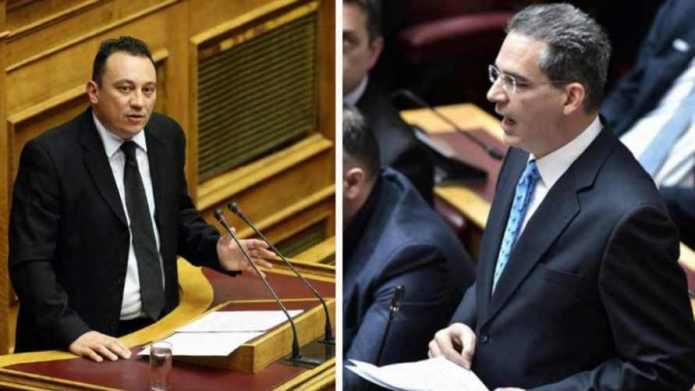 Άρση ασυλίας του Κώστα Βλάση και του Άγγελου Συρίγου αποφάσισε η ολομέλεια της Βουλής