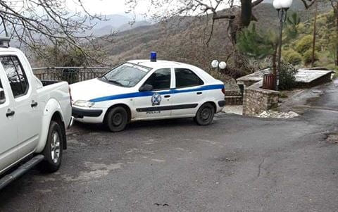 Κουρουνιού: Ευχαριστήριο για τις περιπολίες της Αστυνομίας