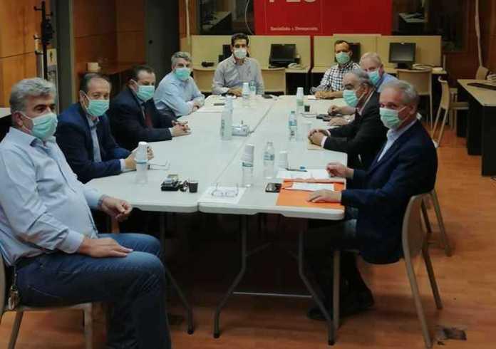 Συνάντηση των αντιπολιτεύσεων του Δήμου Μεγαλόπολης με το ΚΙΝΑΛ για τα θέματα της απολιγνιτοποίησης , της τηλεθέρμανσης και του φυσικού αερίου