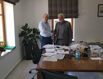 Συνάντηση Δημάρχου Μεγαλόπολης με το Βουλευτή Ν. Αρκαδίας του ΣΥΡΙΖΑ κ. Γεώργιο Παπαηλιού