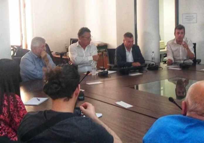 Συνάντηση Δημάρχου Μεγαλόπολης με τον Ευρωβουλευτή κ. Κ. Αρβανίτη και στελέχη του ΣΥΡΙΖΑ