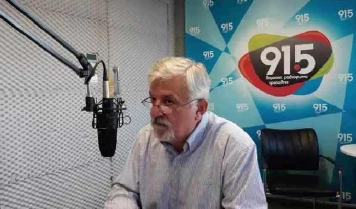 Χριστογιαννόπουλος στο Δημοτικό Ραδιόφωνο Τρίπολης για φυσικό αέριο, τηλεθέρμανση και μνημόνιο (video)