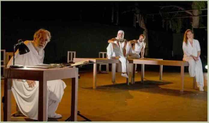 """Η παράσταση """"Οδυσσέως Σχεδία"""" στο Αρχαίο Θέατρο Μεγαλόπολης από το ΔΗ.ΠΕ.ΘΕ. Καλαμάτας την Παρασκευή 21 Αυγούστου"""