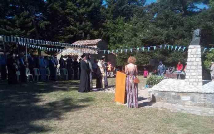 Ο εορτασμός στην ιστορική Μονή Ρεκίτσας
