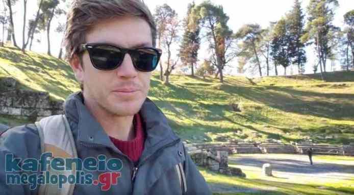 Ένας τουρίστας στην Μεγαλόπολη (video)
