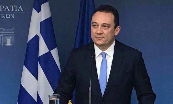 Eυχές του Υφυπουργού Εξωτερικών κ. Κώστα Βλάση