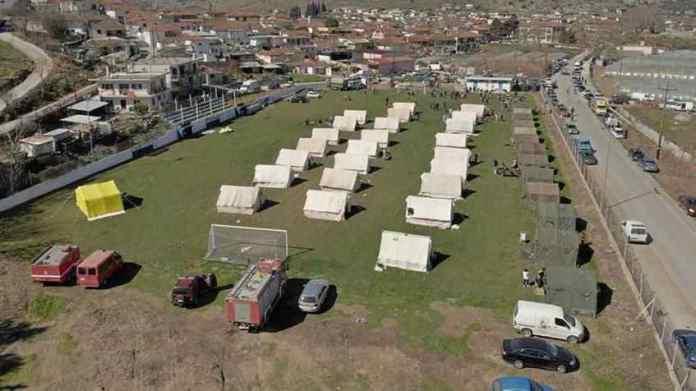 Συγκέντρωση ειδών πρώτης ανάγκης για τους σεισμοπαθείς στην Ελασσόνα από την Μητρόπολη Γόρτυνος και Μεγαλοπόλεως